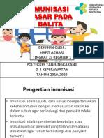 Pentingnya Imunisasi Lembar Balik