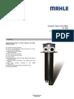 Filtro Hidráulico Pi550 Mahle