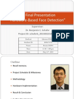 Face Detection ZHANG Qixuan