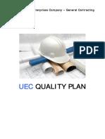 Construction QC Plan