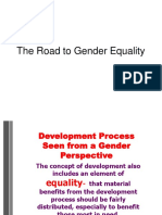 The Road to Gender Equality