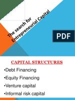 Unit 2 Capital Structures