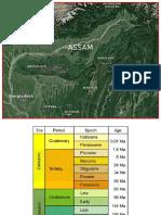 Assam stratigraphy