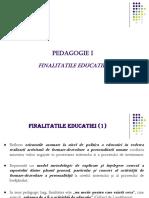 4.Finalitatile educatiei