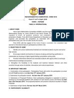 homc2019 information