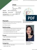 Astro-Databank Marion Cotillard