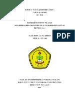 Laporan Identifikasi Potensi Wilayah New