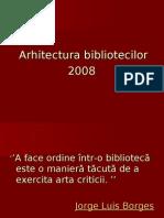 Arhitectura bibliotecilor