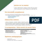 Programme de For