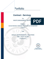 080623 E&BS Services Contract v1 6 (CNAHS) Veolia DRAFT Rev 1