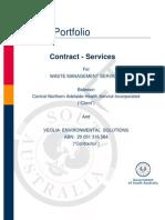 080623 E&BS Services Contract v1 6 (CNAHS) Veolia DRAFT Rev 1
