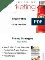 9. Ch # 11, Pricing Strategies