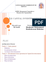 Capital Investissement Partie Mouhcine Mohammed