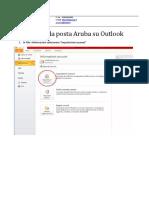 Configurare La Posta Aruba Su Outlook
