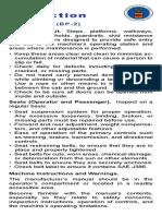 MSHA 1002 (BP-2) Cab Inspection