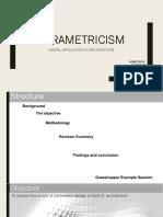 Parametric is m