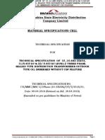10kva 25 Kva Dist.transformer Spec Revision Dtd. 20.04.2018 (1)