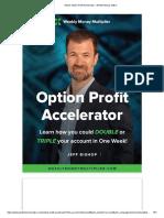 Ebook Option Profit Accelerator - Weekly Money Maker - Jeff Bishop.pdf