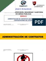 Gestión de Contrataciones Del Estado y Adquisiciones - 09nov2018