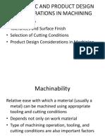 09 Economic & Product Design Considerations in Machining
