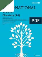 Edexcel IGCSE Chemistry 2019 Specification1