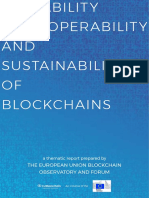 Report Scalaibility Blockchain
