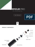 Armour Pro Manual