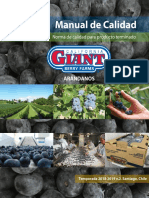 Manual de Calidad California Giant