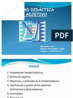 Unidad Didactic A- El Adjetivo
