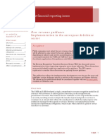 Pwc in Depth Ifrs 15 Industry Supplement Aerospace and Defence