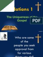 GALATIANS 1- Timothy Keller