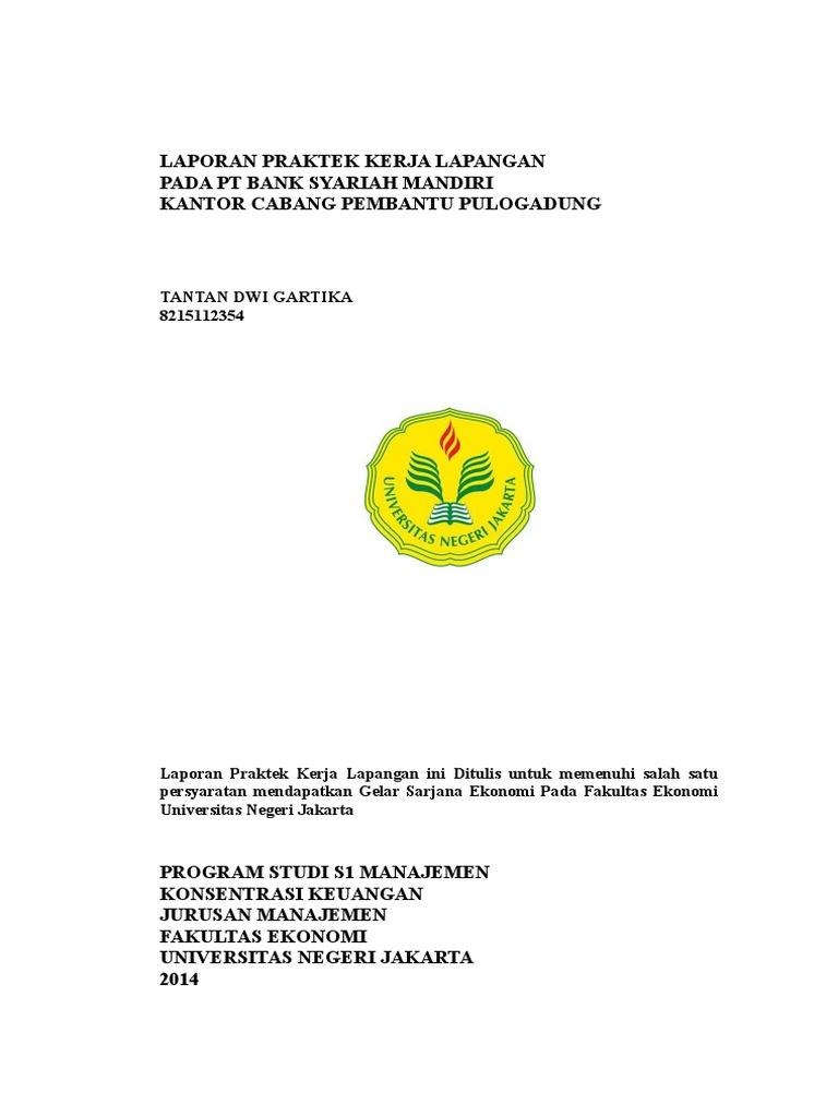 Laporan Pkl Tantan Doc Banking Business