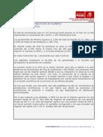 Observatorio Economico Psoe de Almeria Pensiones