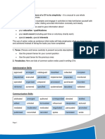 2.5 Language Page - Positive Action Verbs