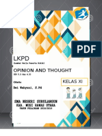 Lkpd Opinion Dan Thought