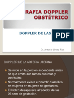 Doppler de Las Art Uterinas