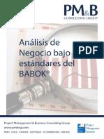 Brochure Análisis de Negocios