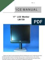 Monitor LCD AOC Model-LM729