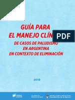 Paludismo Guía Para El Manejo Clínico.