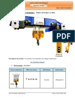 8faoq-Palans Electriques a Cable Avec Correction