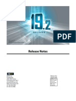 ANSYS, Inc. Release Notes v19