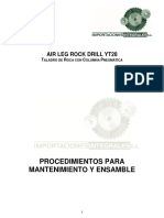Manual de Mantenimiento martillo yt28