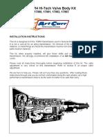 700 R4 HI-Tech Valve Body Kit.pdf