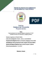 UT-005 Perfil de trabajo de titulación. Proyecto Técnico