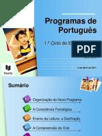 novo programa 1º ciclo 2017