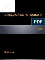 DIRECCION DE FOTOGRAFIA.