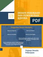 PPT Desain Pekerjaan Dan Pengukuran Kinerja 12