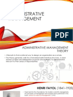 12 Elements of Administrative Management