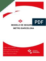 Modelo Seguridad Metro Barcelona