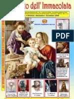 Il Crociato Dell'Immacolata Ottobre Novembre Dicembre 2009